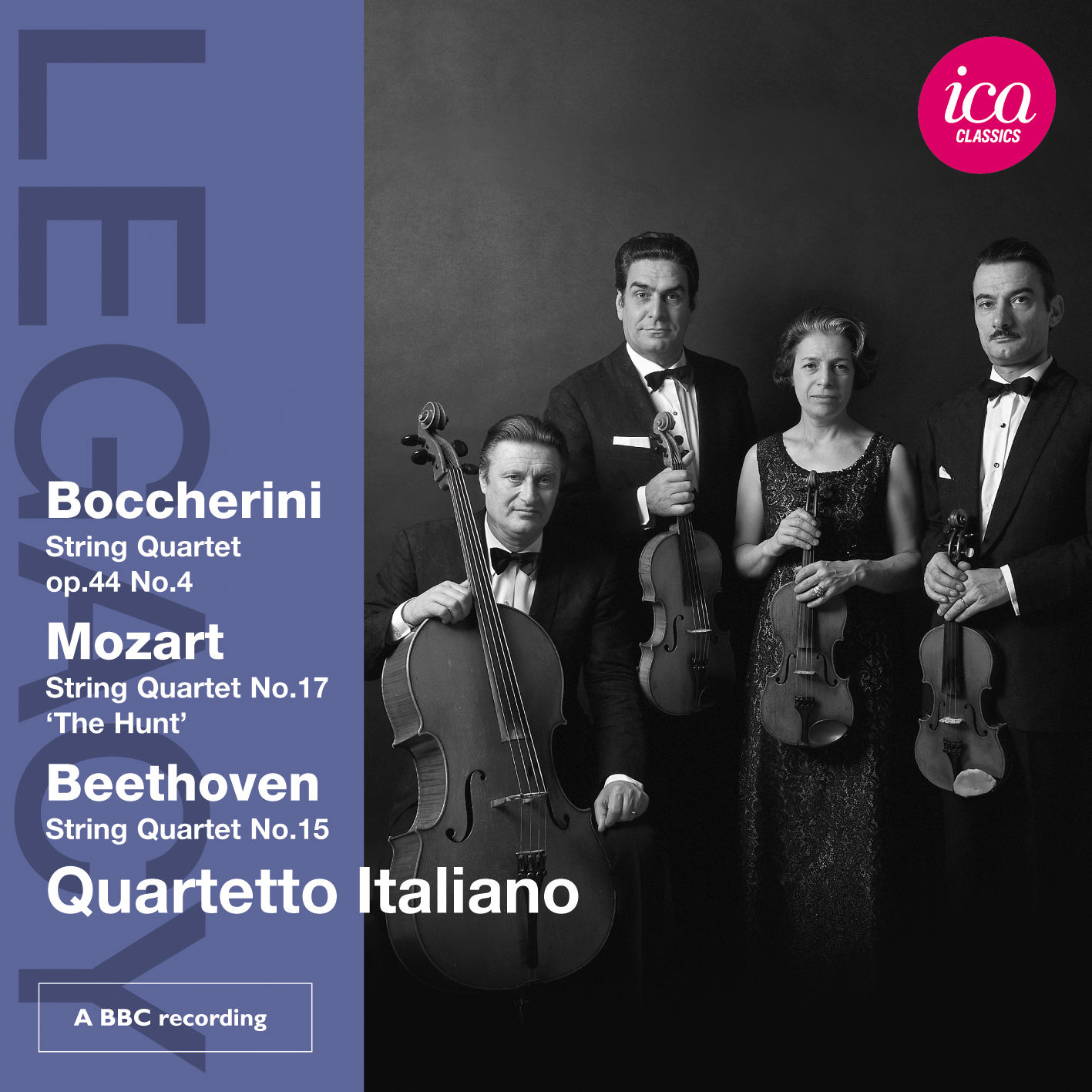 Boccherini, Mozart, Beethoven String Quartets